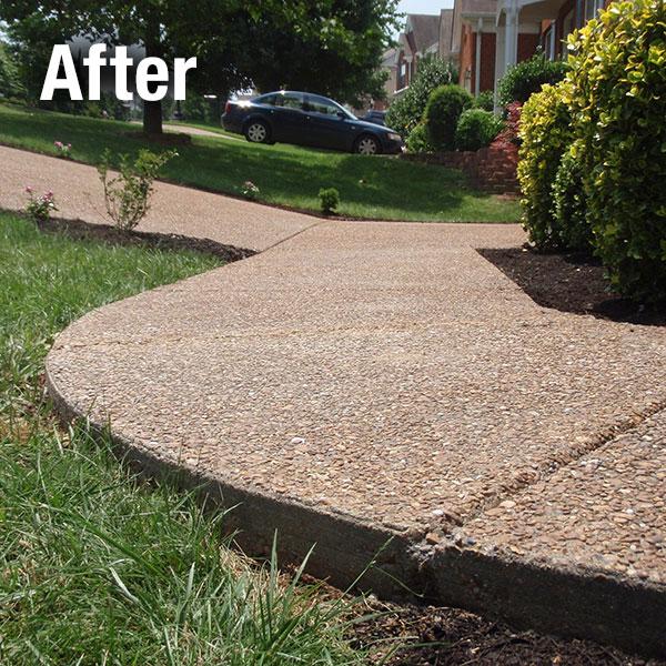 Akron/Canton Concrete Sidewalk Leveling - After